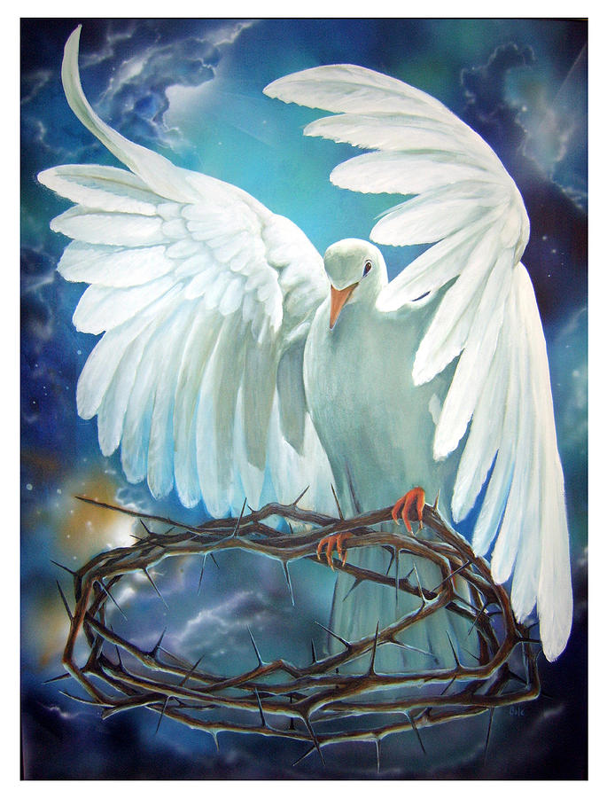 The Dove Painting  - The Dove Fine Art Print