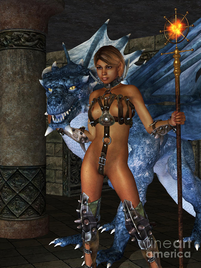 The Dragon Princess Digital Art