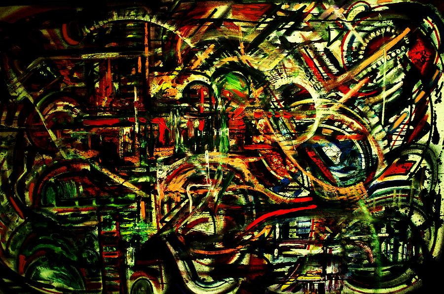 The Dream 19 Painting  - The Dream 19 Fine Art Print