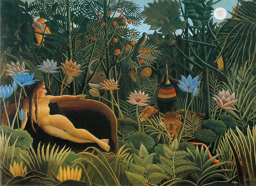 Jungle Oil Paint