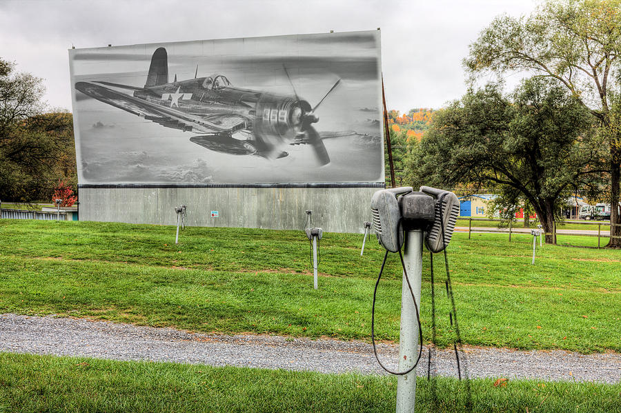 The Drive In Movie Photograph