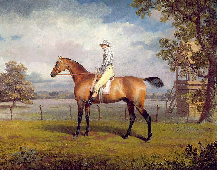 The Duke Of Hamiltons Disguise With Jockey Up Painting