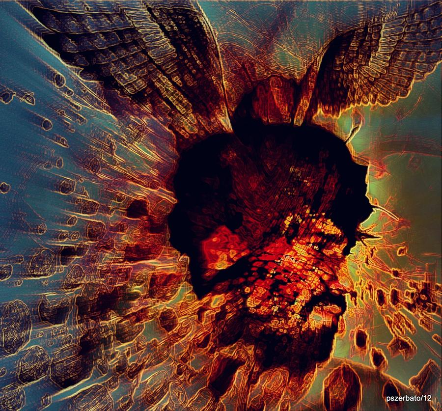 The Effects Of Our  Mutants Thoughts Digital Art  - The Effects Of Our  Mutants Thoughts Fine Art Print