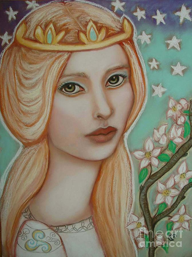 The Empress Painting
