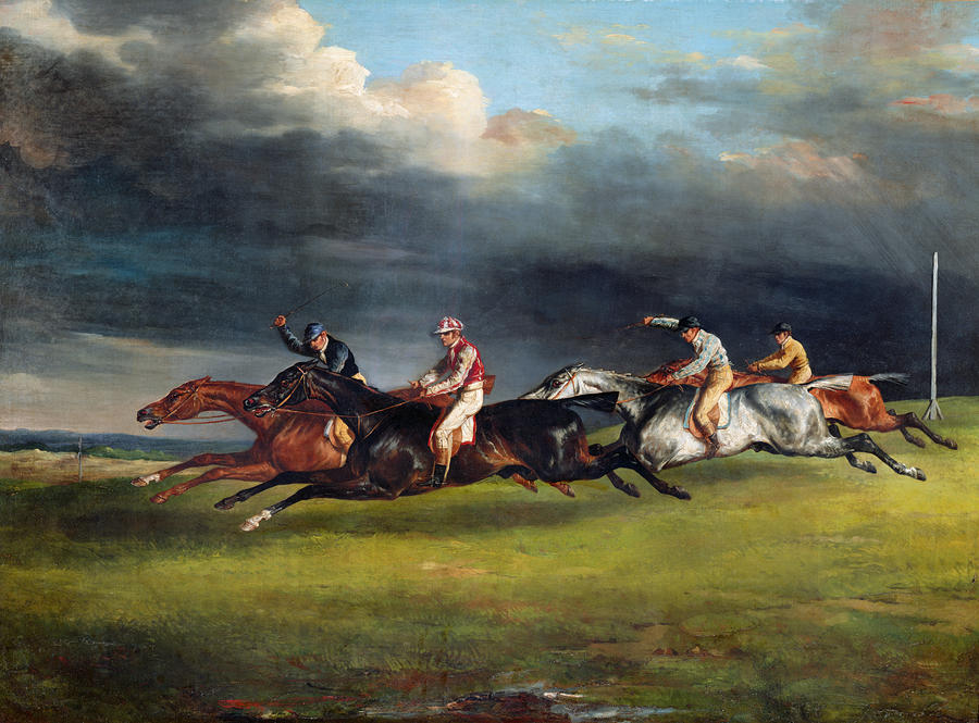 The Epsom Derby Painting  - The Epsom Derby Fine Art Print