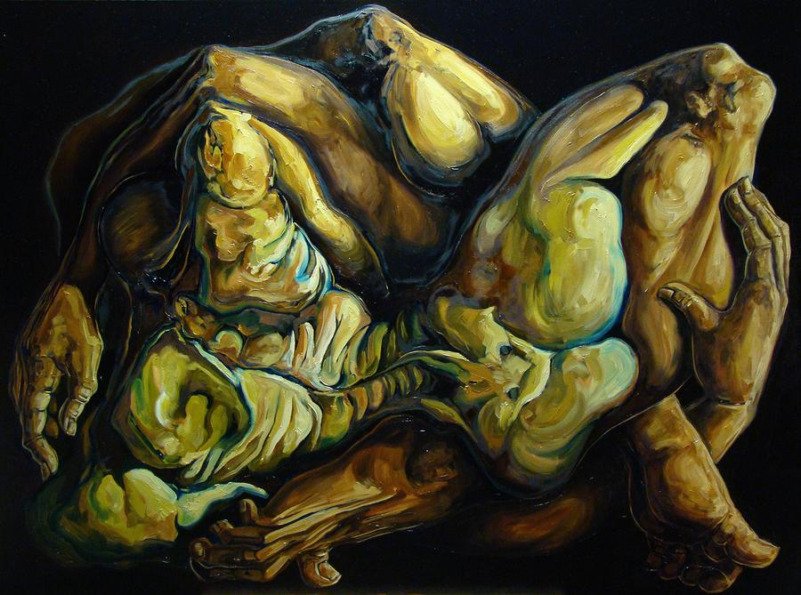 The Eternal Embrace Painting