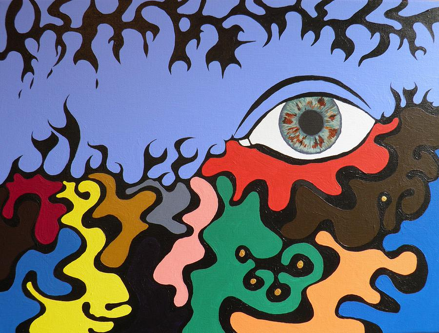 The Eye Painting  - The Eye Fine Art Print