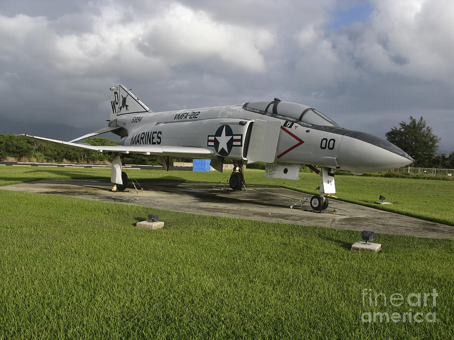 The F4 Phantom II On Display Photograph by Michael Wood - The F4 ...
