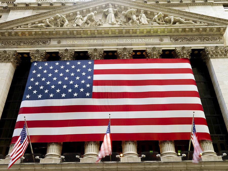 The Facade Of The New York Stock Photograph
