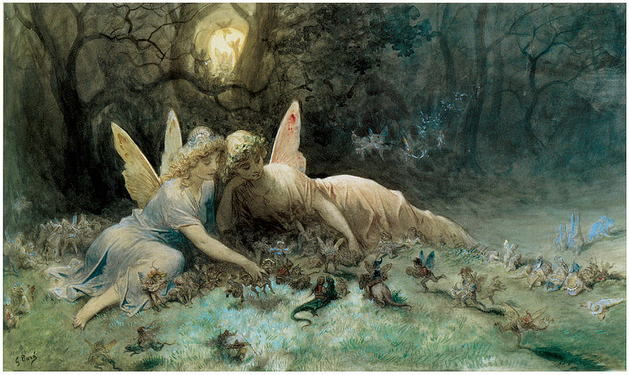 The Fairies  Painting