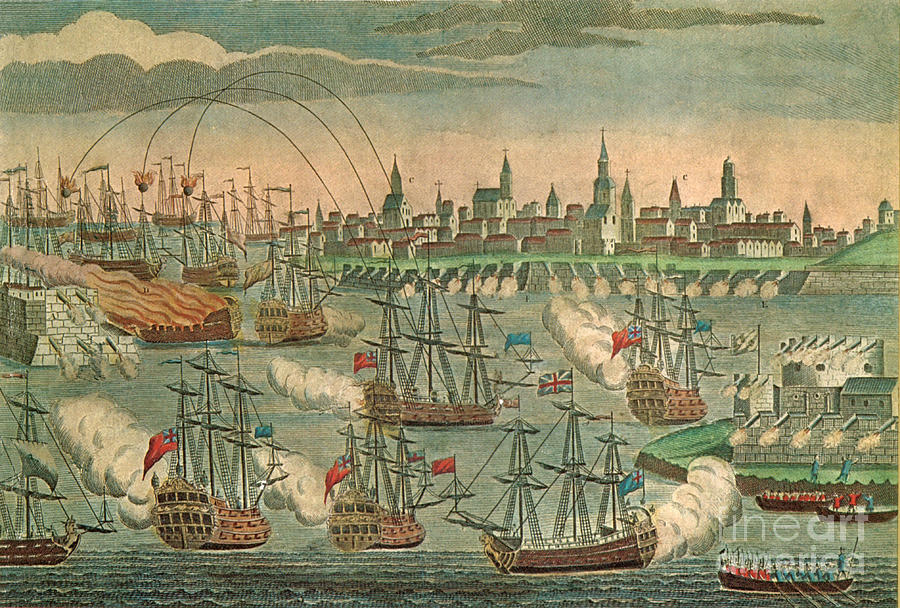 The Fall Of Louisbourg 1758 Photograph