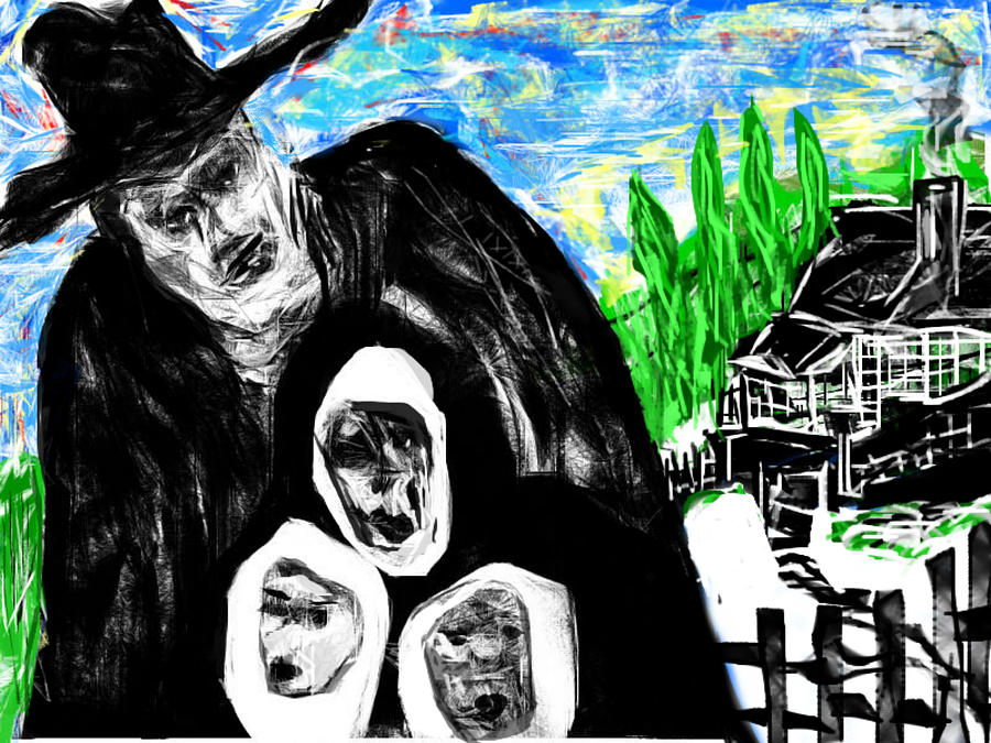 The Family Man Digital Art
