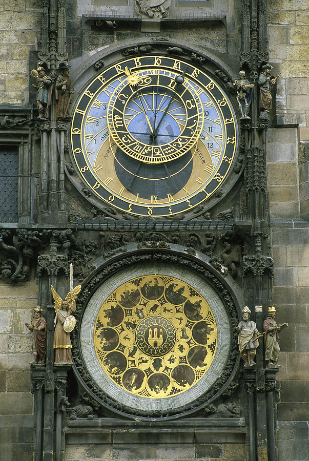 Europe Photograph - The Famous Astronomical by Taylor S. Kennedy