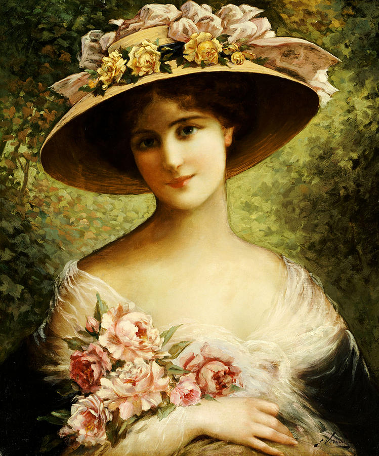 The Fancy Bonnet Painting