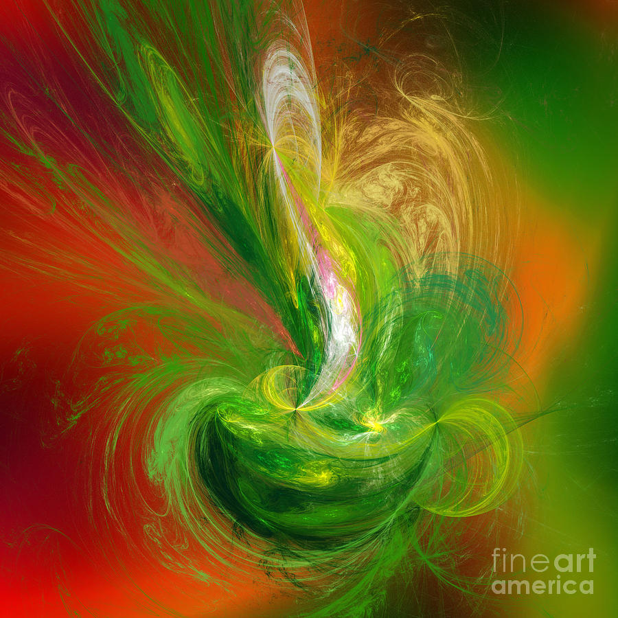The Feathering Teacup Digital Art