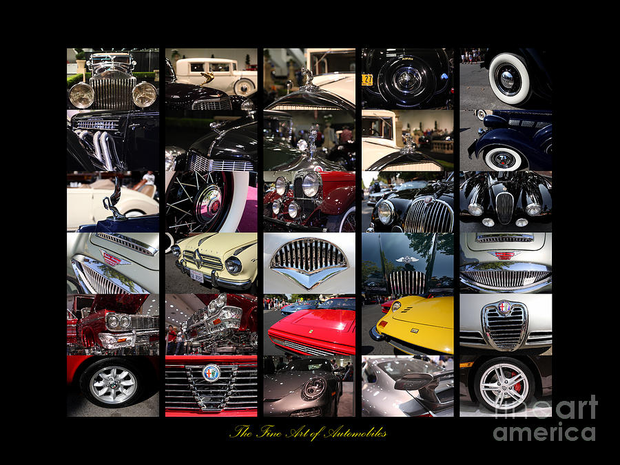 The Fine Art Of Automobiles Photograph  - The Fine Art Of Automobiles Fine Art Print