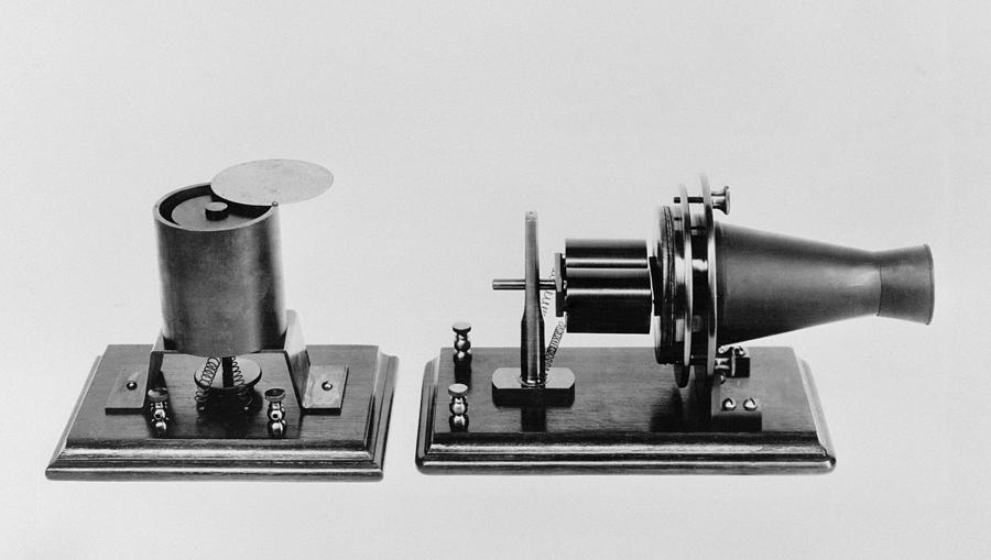 The First Telephone Developed Photograph by Everett