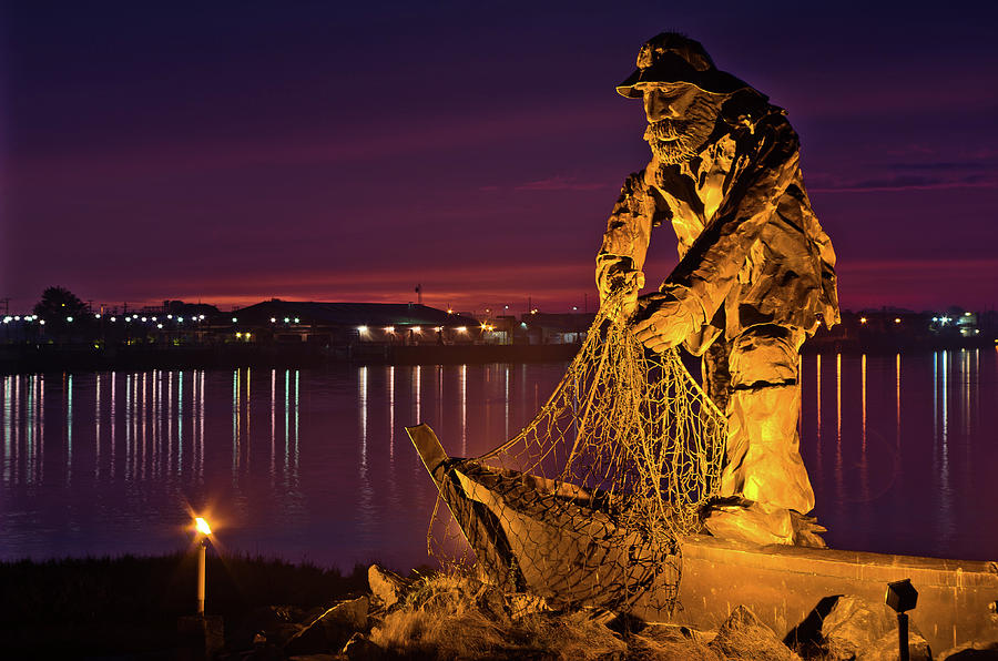 The Fisherman Photograph  - The Fisherman Fine Art Print
