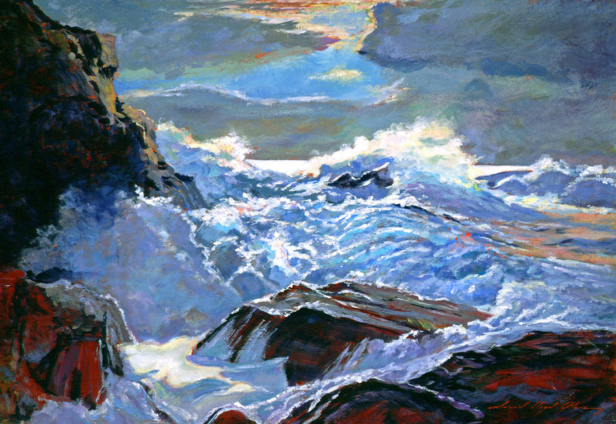 The Foaming Sea Painting