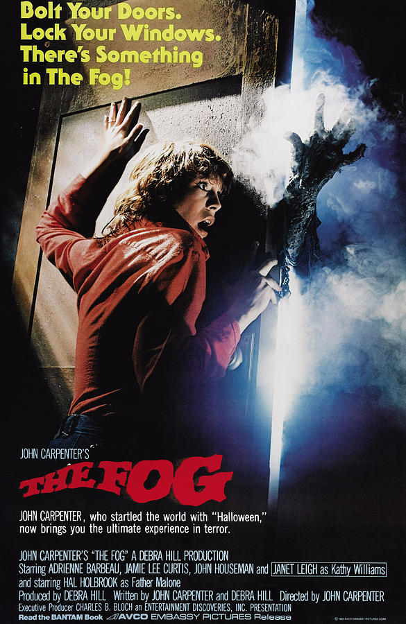The Fog, Jamie Lee Curtis, 1980 Photograph