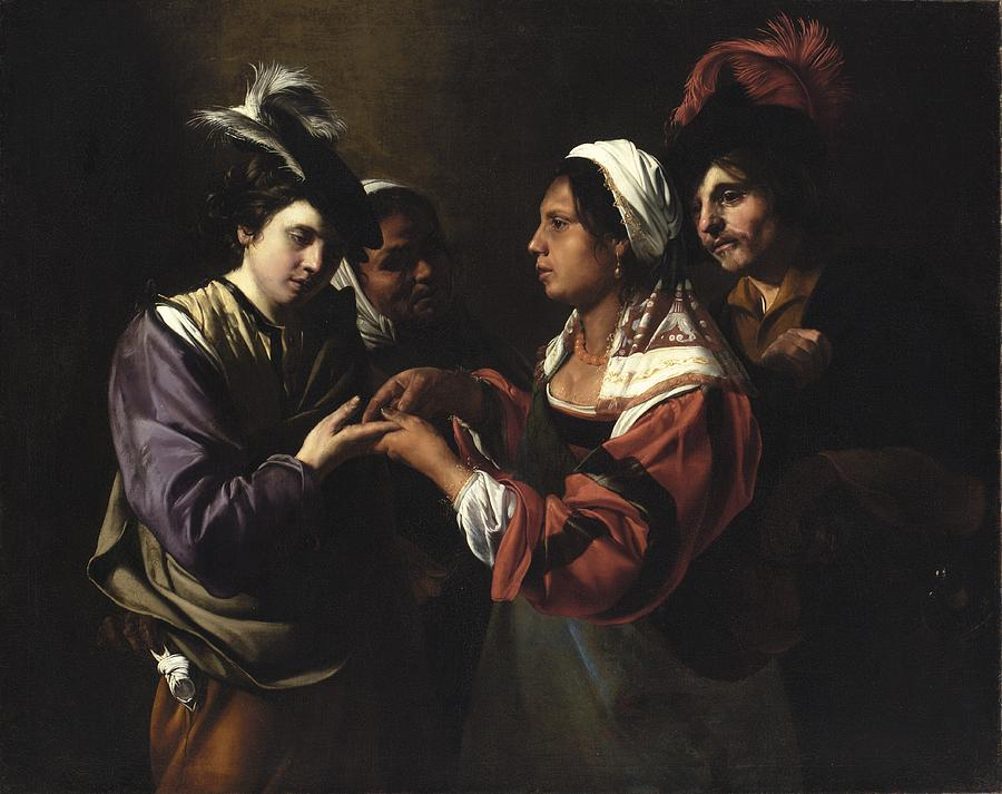 The Fortune Teller Painting