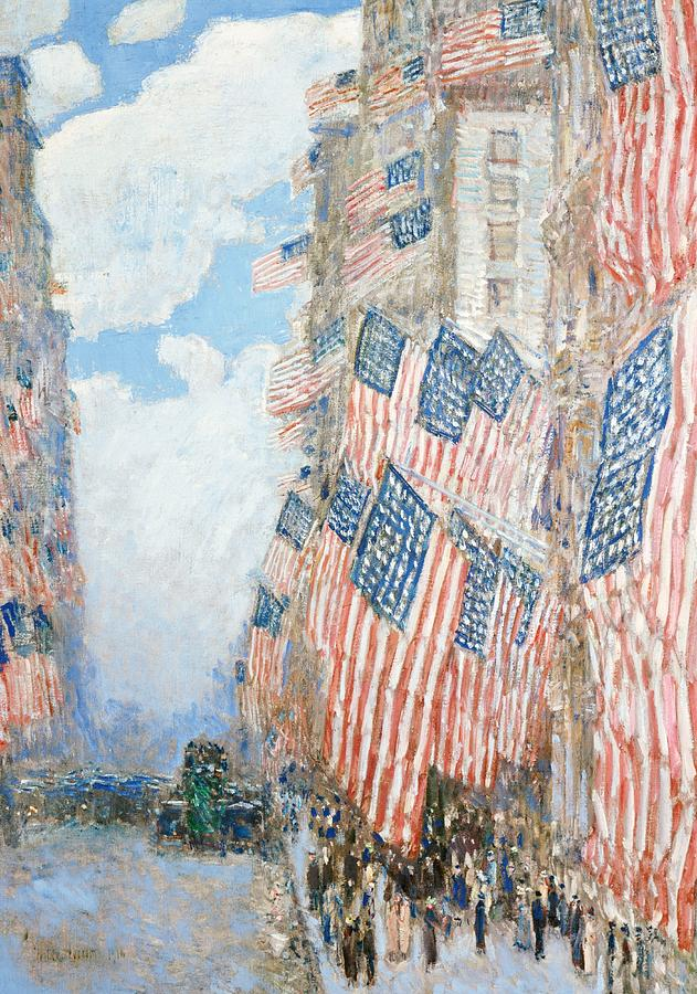 The Fourth Of July Painting