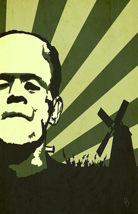 The Frankensteins Monsters Digital Art