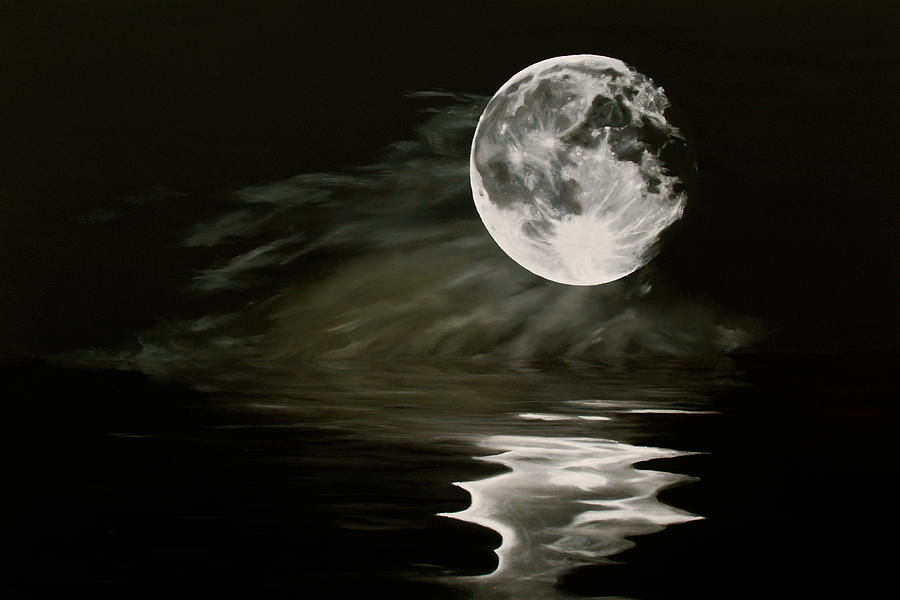 The Fullest Moon Painting