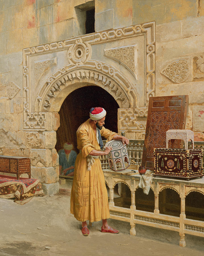 The Furniture Maker Painting