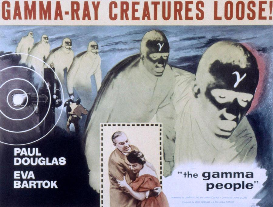 The Gamma People, Paul Douglas, Eva Photograph