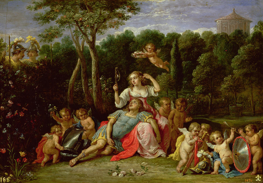The Garden Of Armida Painting