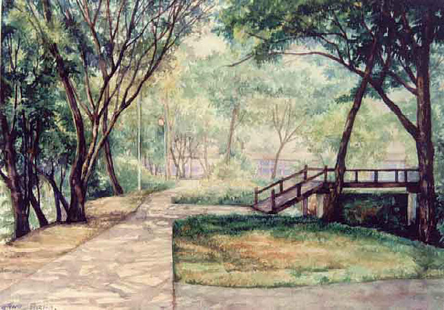 The Garden Painting