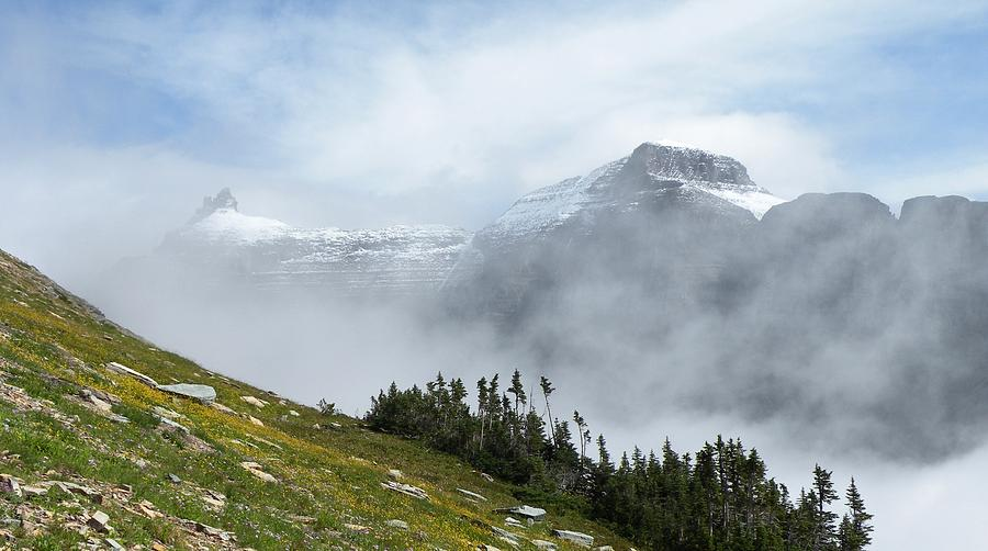 The Garden Wall Glacier National Park By Dave Martsolf