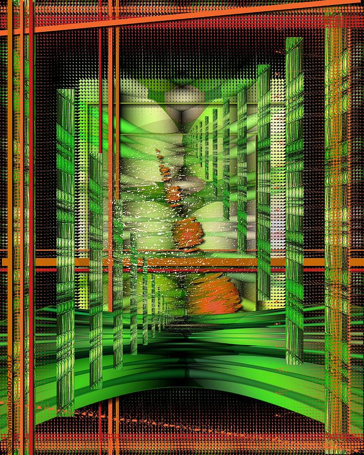 The Gateway To Broccoli Digital Art  - The Gateway To Broccoli Fine Art Print