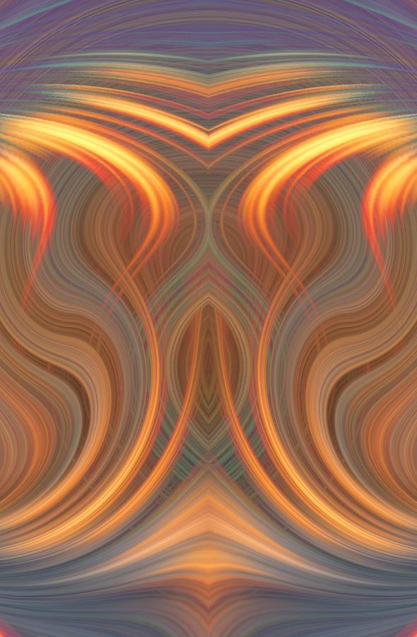 The Ghost Of Fire Digital Art