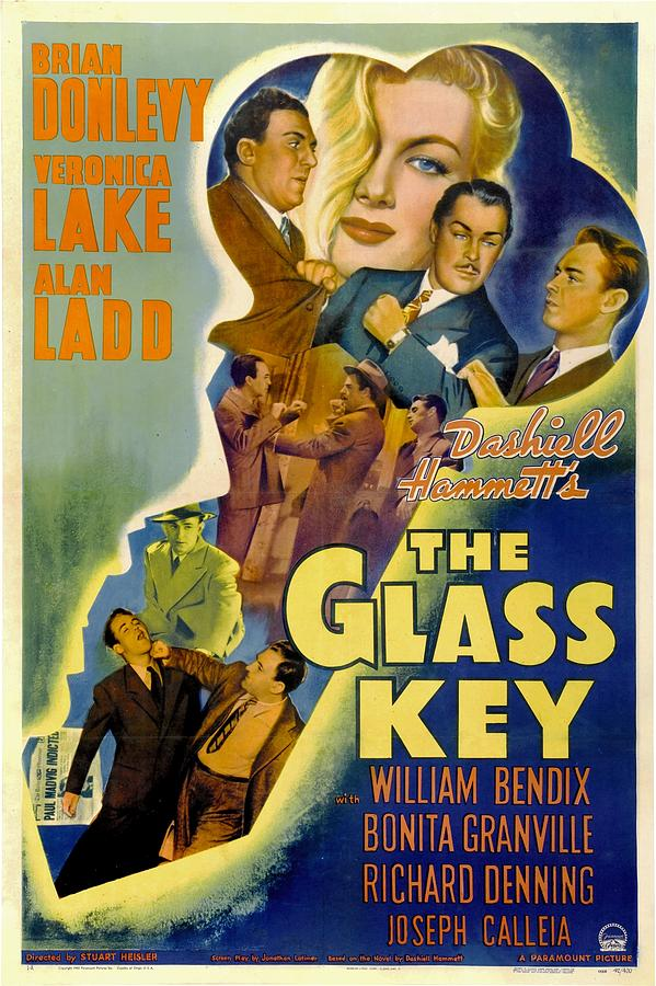 The Glass Key, William Bendix, Veronica Photograph  - The Glass Key, William Bendix, Veronica Fine Art Print