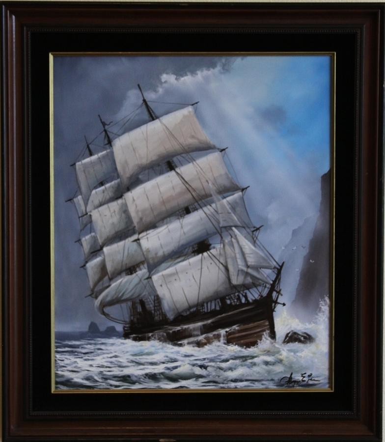Shipwreck Painting - The Glenesslin by George E Lee