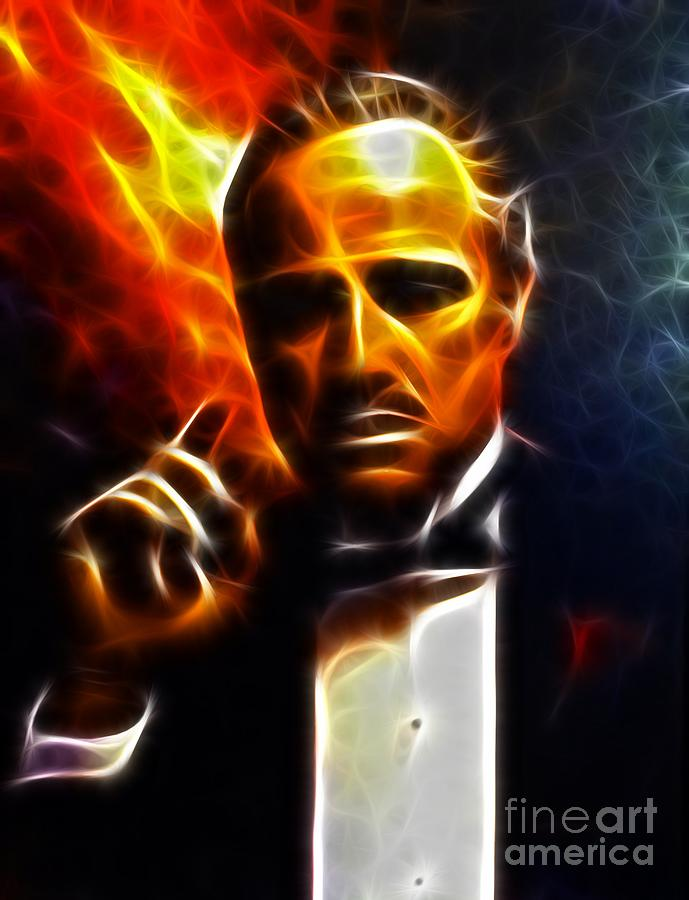 The Godfather Mixed Media