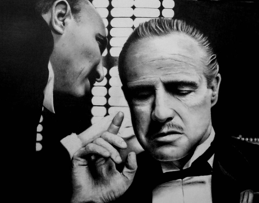 The Godfather Drawing