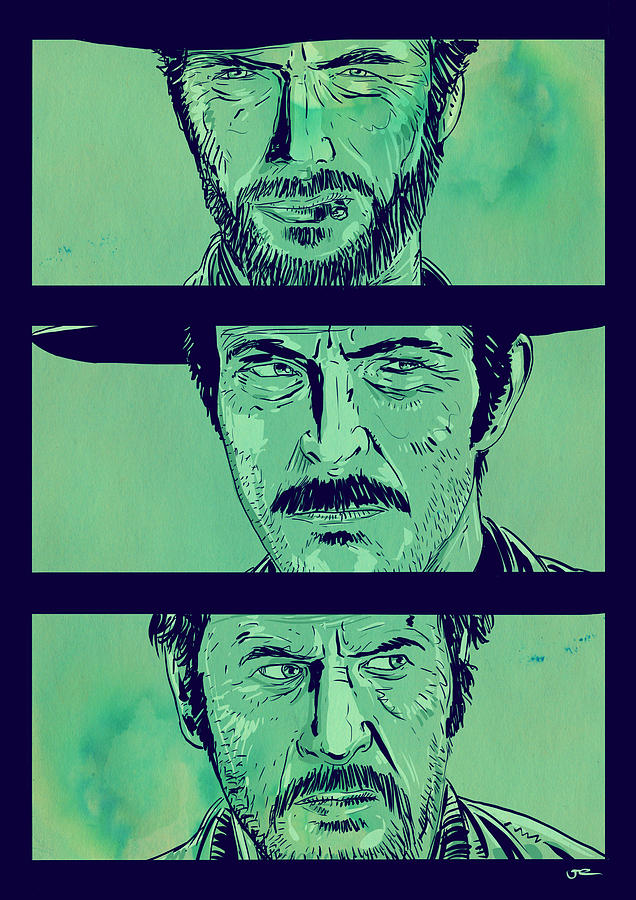 The Good The Bad And The Ugly Drawing