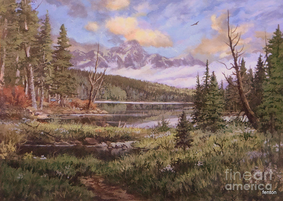 The Gore Range Painting  - The Gore Range Fine Art Print