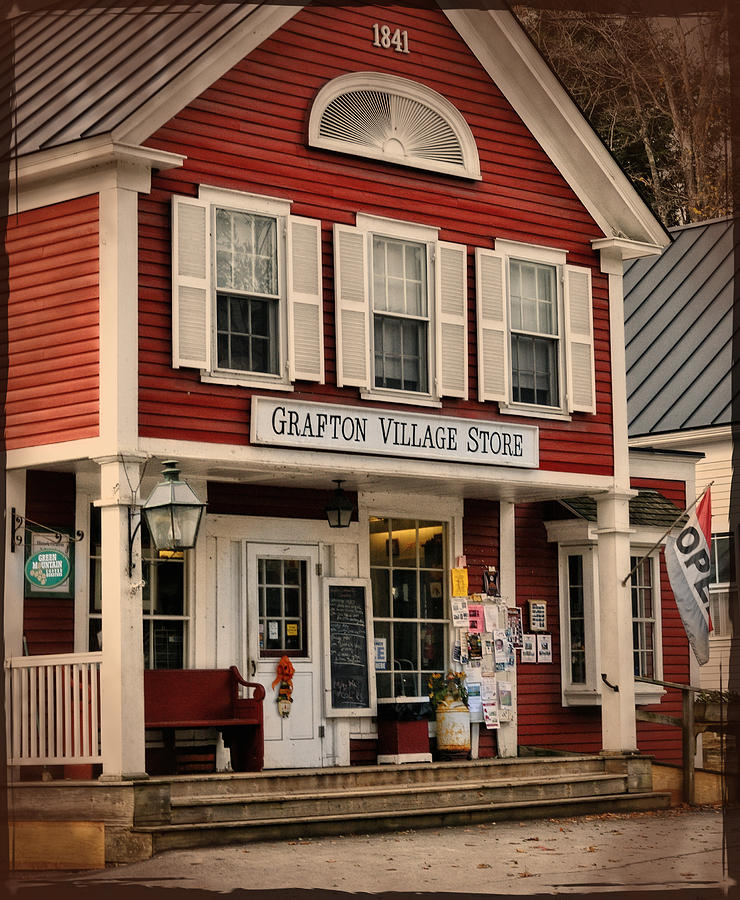 The Grafton Vermont Village Store Photograph  - The Grafton Vermont Village Store Fine Art Print
