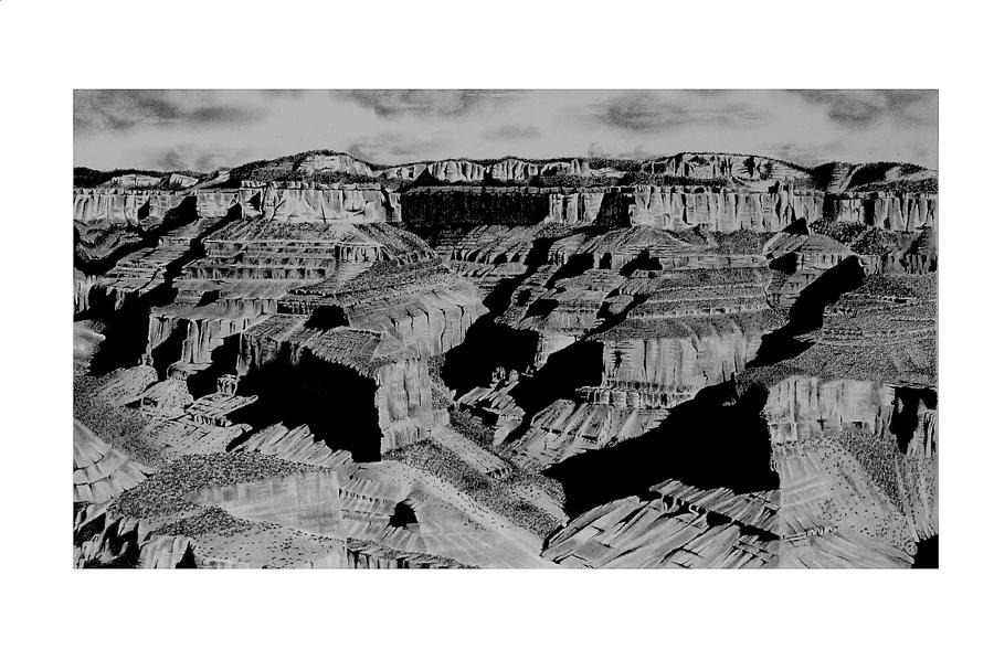 The Grand Canyon by John Bowman