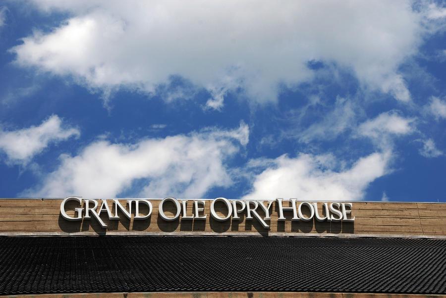 The Grand Ole Opry Nashville Tn Photograph