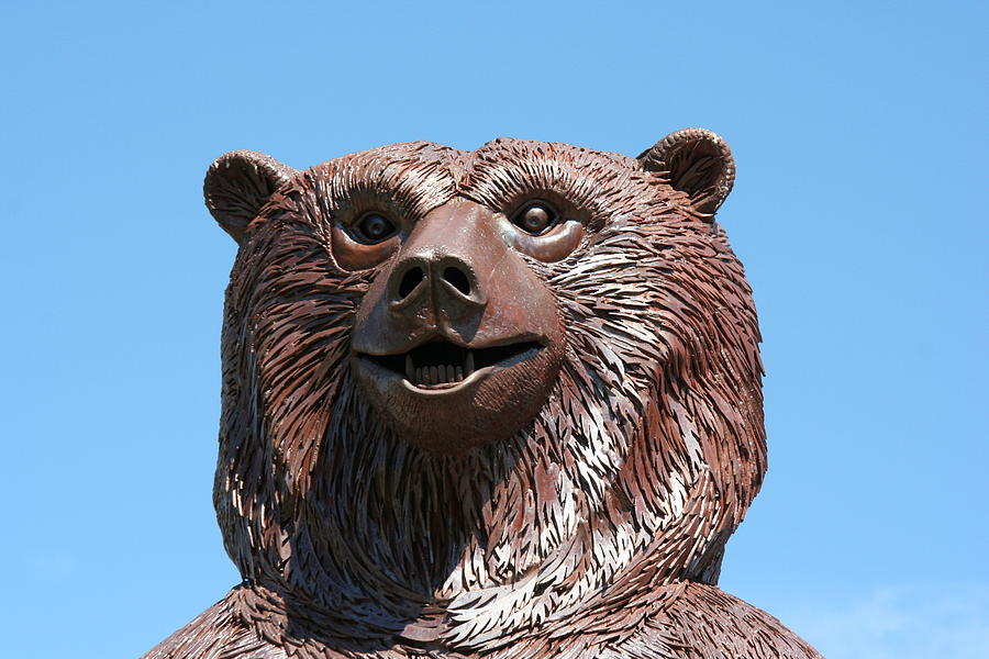 The Great Bear Sculpture  - The Great Bear Fine Art Print