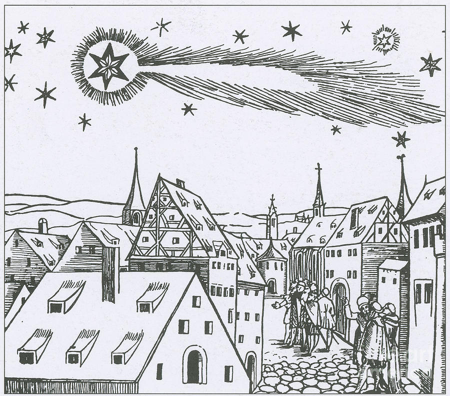 The Great Comet Of 1556 Photograph