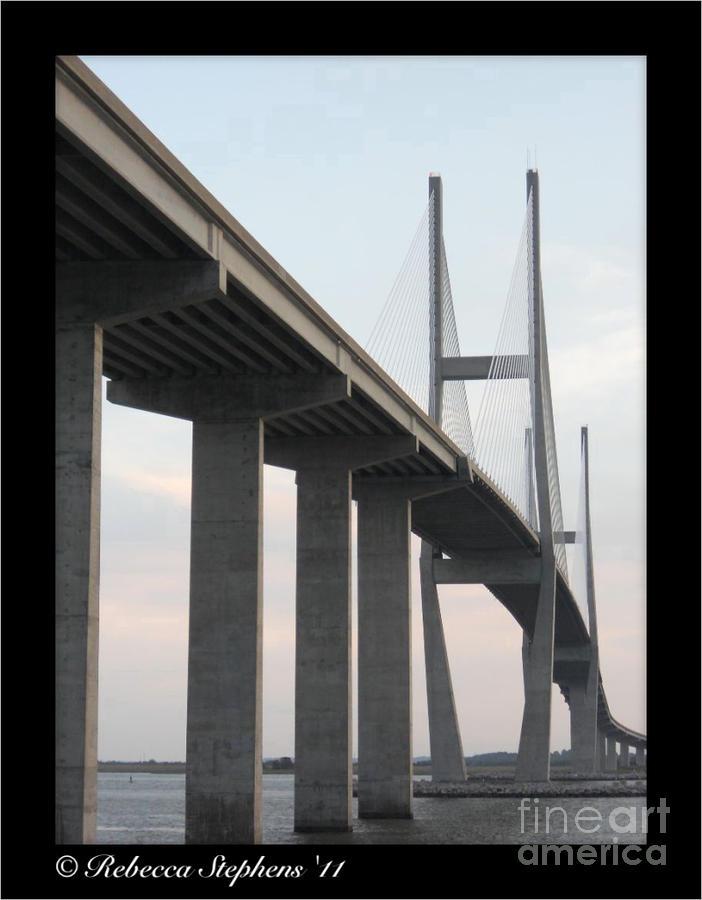 The Great Connection Sidney Lanier Bridge Photograph