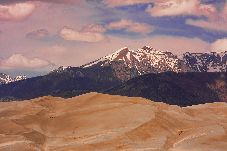 The Great Sand Dunes And Sangre De Cristo Mountains Photograph