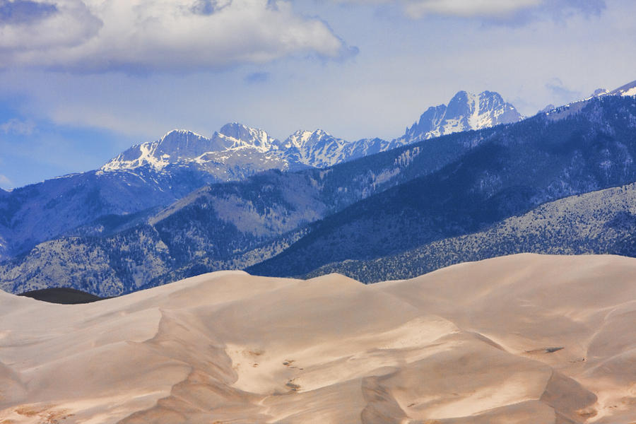 The Great Sand Dunes Color Print 45 Photograph
