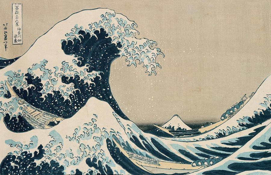The Great Wave Of Kanagawa Painting